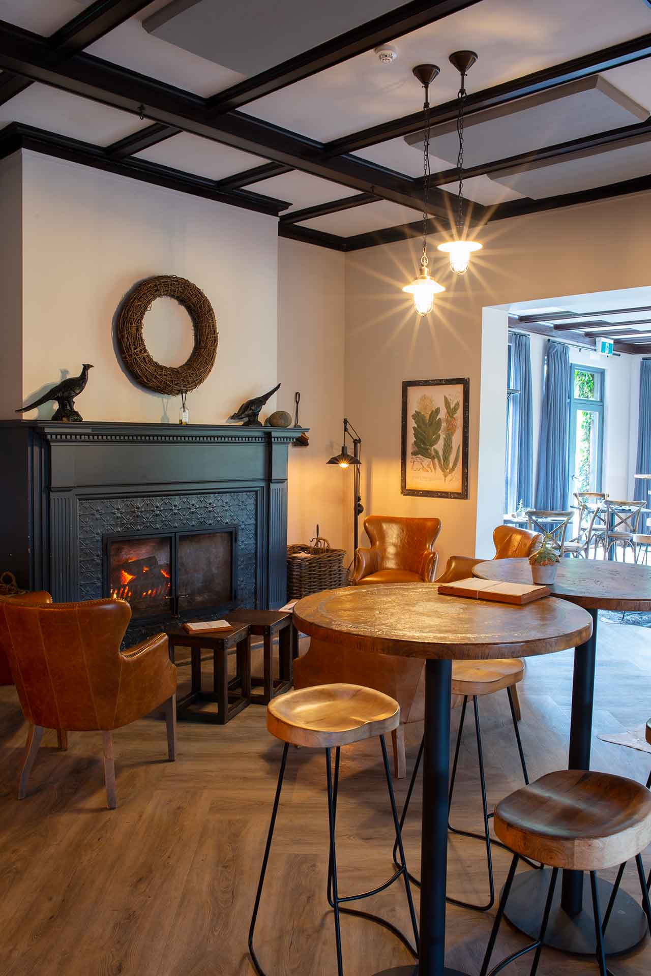 The Lounge, Open Fire, Bistro Sociale, Restaurant, Southern Highlands, Bowral